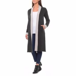 NWT Tahari Cashmere blend doubleknit cardigan